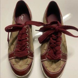 Coach sneakers Coach women signature shoes
